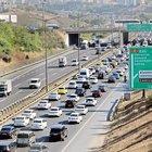 TEM'de çalışma trafiği felç etti
