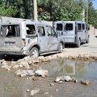 Cizre'de askeri konvoya bombalı saldırı
