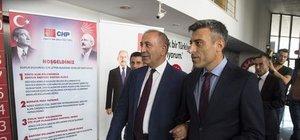 Öztürk Yılmaz CHP'den aday adaylığı için başvuruda bulundu
