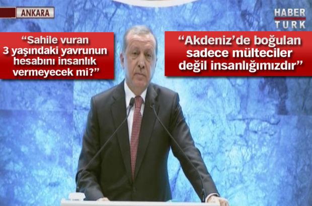 Cumhurbaşkanı Erdoğan B20 zirvesinde konuştu