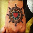 En güzel kalpli dövmeler