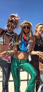 Şeyma Subaşı Burning Man Festivali'nde!