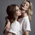 Kate Moss ve Cara Delevingne tekrar bir arada