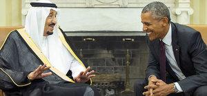 Obama, Suudi Arabistan Kralı Selman ile görüştü