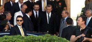 Cumhurbaşkanı Erdoğan'dan Kahraman Emmioğlu'nu ziyareti etti
