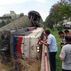 Elazığ'da iki tren çarpıştı: 1 yaralı