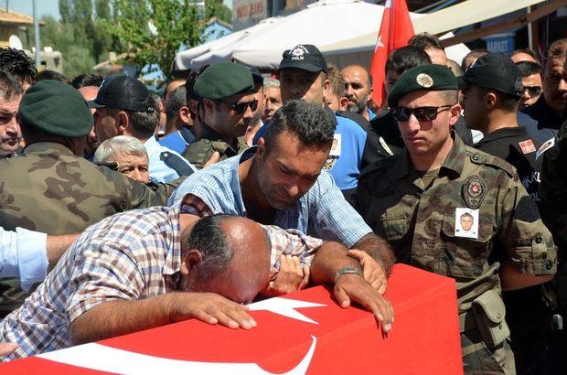 Şehit polis memuru Ersoy, son yolculuğuna uğurlandı