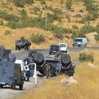 Şırnak'ta polis aracı devrildi: 2 yaralı