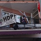 Balıkesir'de HDP binasına saldırı