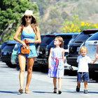 Alessandra Ambrosio çocuklarıyla keyif yaptı