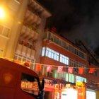 Isparta'da HDP il başkanlığının bulunduğu daire ateşe verildi