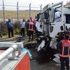 Ankara'da kamyonla otobüs çarpıştı: 16 yaralı