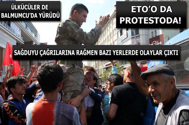 Türkiye teröre karşı yürüdü!