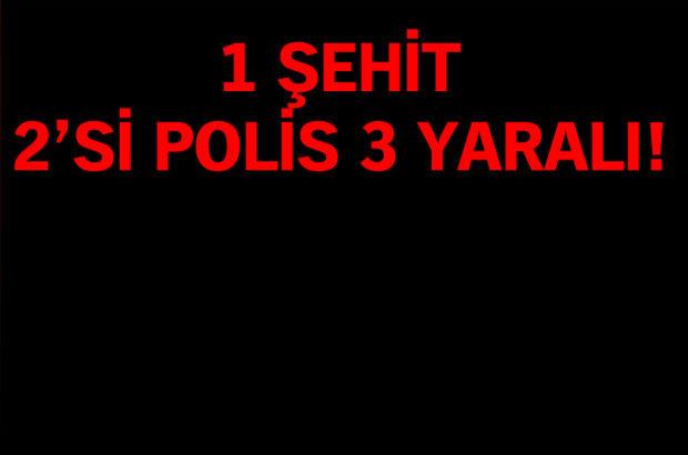 Tunceli'de polise saldırı: 3 polis ve 1 sivil yaralı