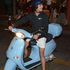 Ozan Güven Mehmet Aslantuğ'u motorsikletine almadı