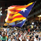 Katalonyalı yüz binler bağımsızlığa yürüdü
