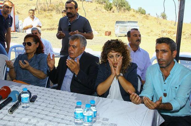 HDP'li bakandan şehit ailesine ziyaret