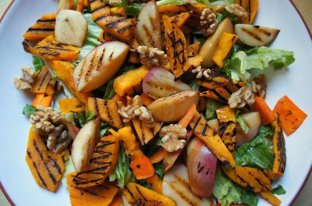 Balkabağı salatası tarifi, Balkabağı salatası malzemeleri, Balkabağı salatası nasıl yapılır?