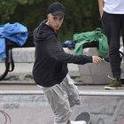Justin Bieber kaykay tutkunu