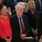 Corbyn'in marş okumaması İngiltere'yi karıştırdı