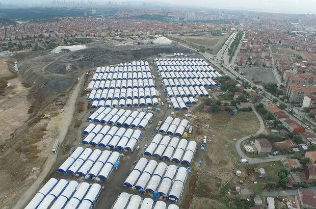 600 çadırlı dev kurban pazarı