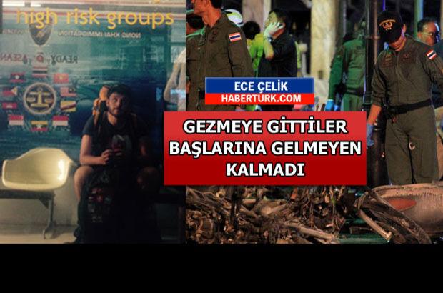 Tayland'da Türkiye pasaportu taşıyan Türk gezginler yaşadıklarını Haberturk.com'a anlattı