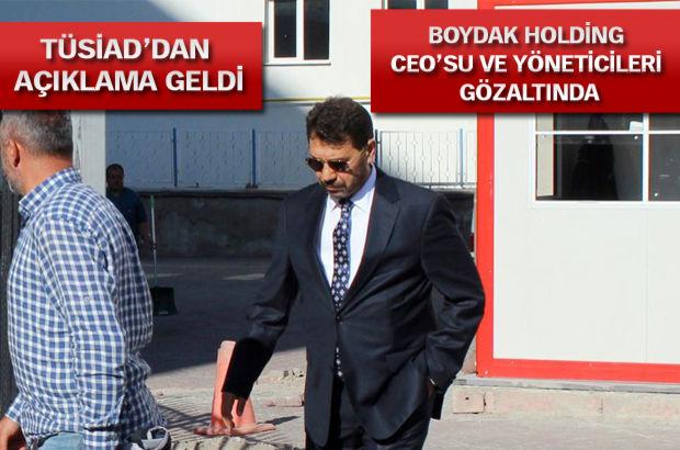 Kayseri, Boydak Holding, Memduh Boydak, Tusiad Boydak açıklama