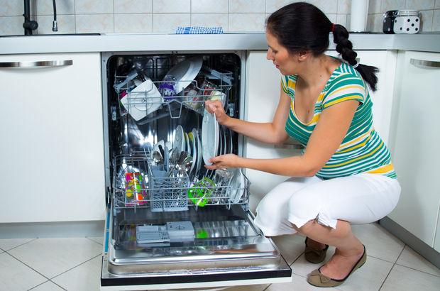 Bulaşık makinesinde