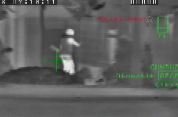 Van'da teröristlerin vurulma anı görüntülendi