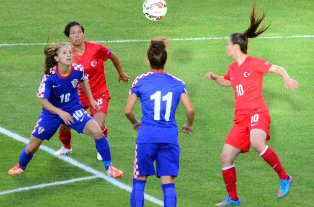 Türkiye A Milli Kadın Futbol Takımı'na, Hırvat şoku!