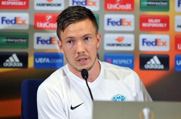 Beşiktaş'ın geçen sezon transferi için büyük çaba harcadığı Martin Linnes'in aklı hala Kartal'da...