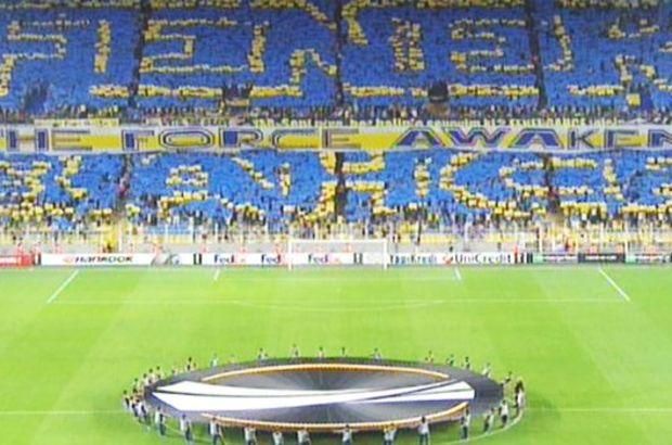 Fenerbahçe taraftarın'dan 'starwars' koreografisi