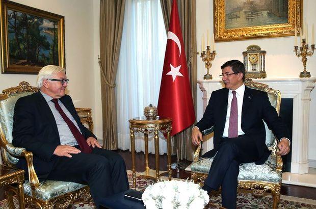 Başbakan Ahmet Davutoğlu, Lüksemburg Lüksemburg Dışişleri, Avrupa İşleri, Göç ve İltica Bakanı Jean Asselbor