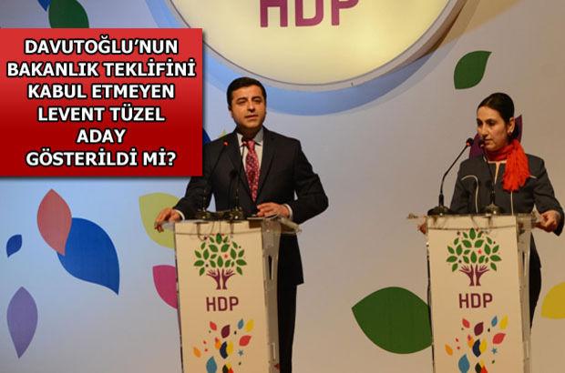 HDP listesinde sürpriz isim!