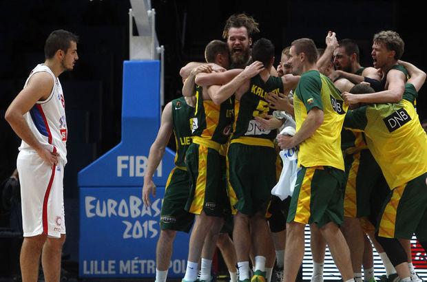 Sırbistan: 64 - Litvanya: 67