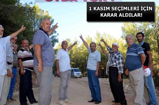 Kahramanmaraş'ta bir mahalle oy kullanmama kararı aldı