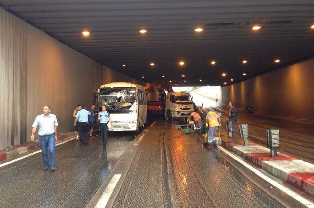 Antalya'da alt geçitte can pazarı: 1 ölü, 7 yaralı