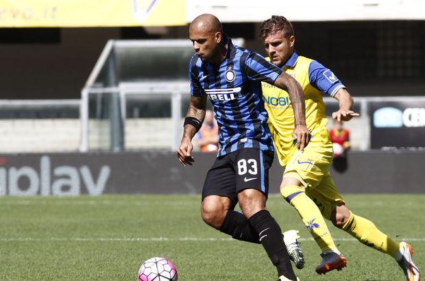 Inter'in yıldızı Felipe Melo,