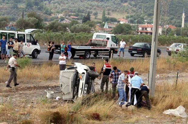 Muğla'da kaza: 1 ölü 1 yaralı