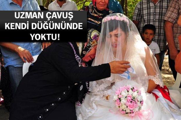 Osmaniye'de damatsız düğün