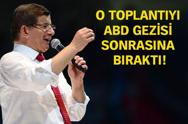 Başbakan Davutoğlu bugün 'öze dönüş' listesini tanıtacak!