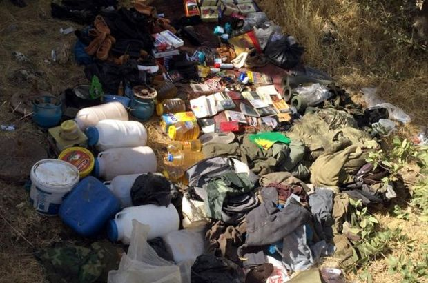 Nusaybin'de PKK'ya ait 4 sığınak bulundu