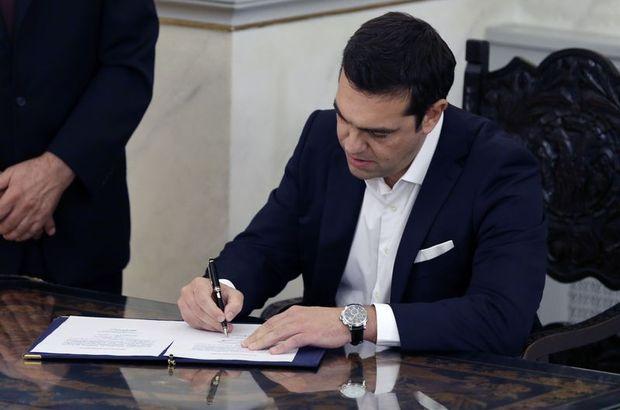 Aleksis Çipras, yeniden başbakan oldu