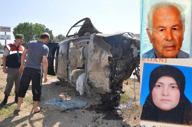 Yozgat Sorgun'da korkunç kaza