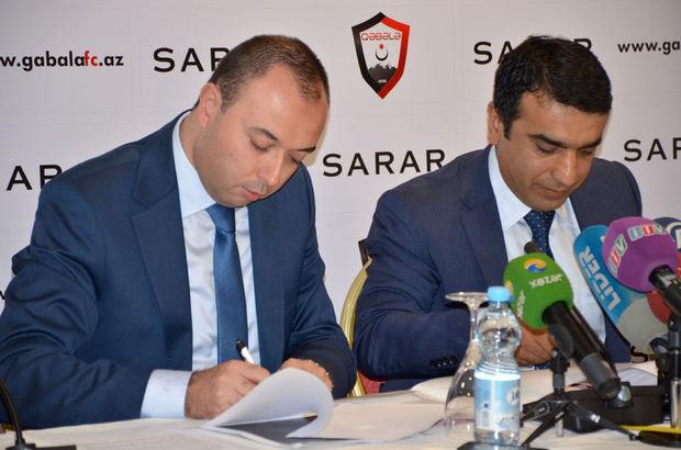 Sarar, Azerbaycan'ın Gebele takımına sponsor oldu
