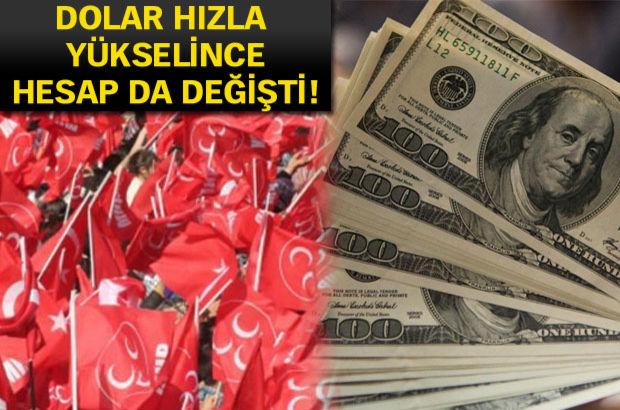 MHP'nin seçim beyannamesine 'kur' ayarı