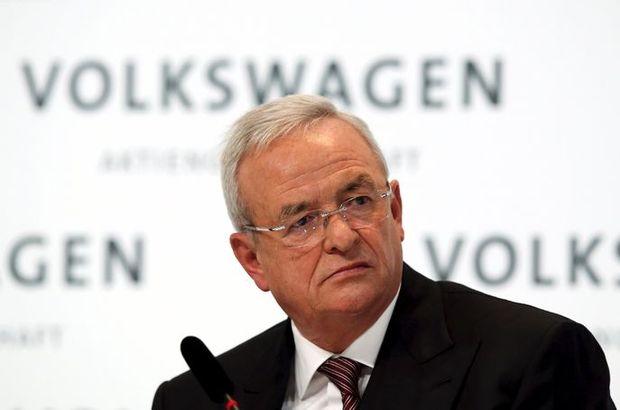 Volkswagen CEO'su Martin Winterkorn istifa etti