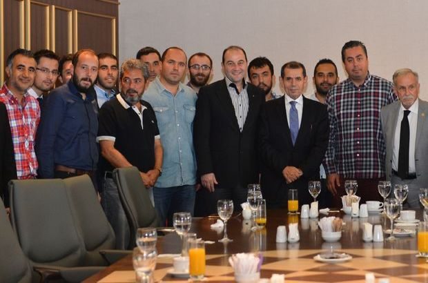 Galatasaray camiası Florya'da bayramlaştı