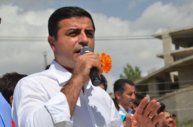 Selahattin Demirtaş bayram namazı sonrası gazetecilerin sorularını yanıtladı