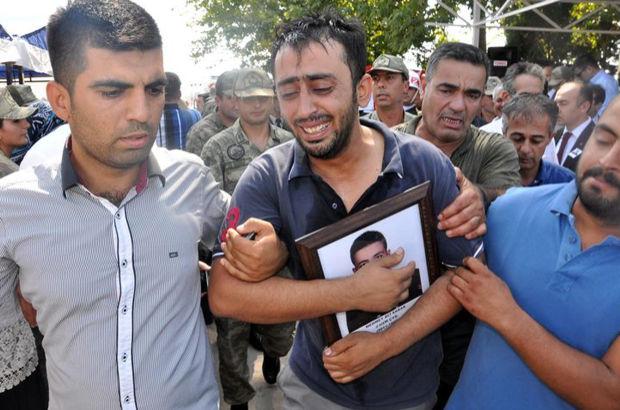 Şehit Uzman Çavuş Mehmet Ali Sarak, toprağa verildi